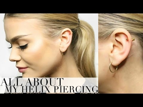 MY HELIX/CARTILAGE PIERCING EXPERIENCE | I FAINTED! + FAQ