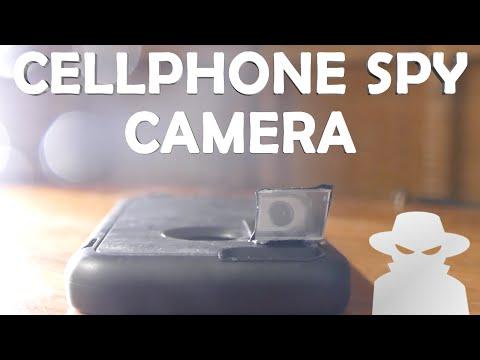 How To Make a Cellphone Spy Camera! - Quick Build