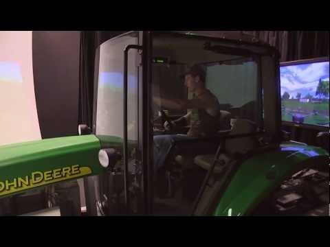 University of Iowa Tractor Simulator Research