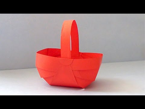 How to make Paper Basket | DIY Paper Crafts Video Tutorial for Kids & Everyone Who loves Creativity.