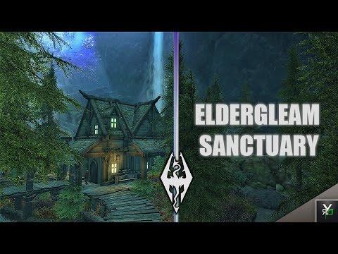 ELDER-GLEAM SANCTUARY HOUSE!!- Xbox Modded Skyrim Mod Showcase