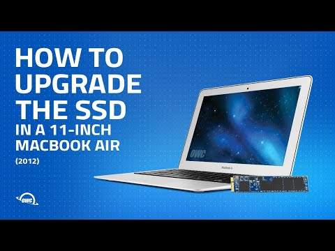 How to Upgrade the SSD in a 11-inch MacBook Air 2012 (Updated)