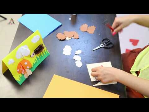 3D Cards: Art & Craft- Creative Activity