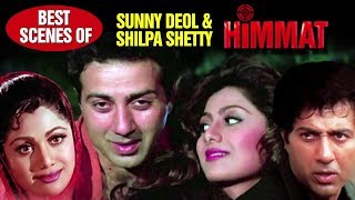 Himmat | Sunny Deol & Shilpa Shetty Best Scene | همت | Sunny Deol, Tabu | With Arabic Subtitles (HD)