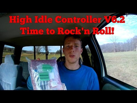 High Idle Controller - Parts are Finally Here!