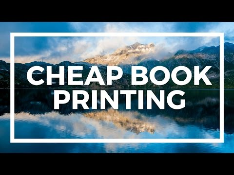 Whiteboard Wednesday - Cheap Book Printing