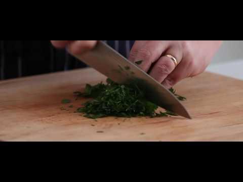 How to Chop Flat Leaf Herbs like Parsley and Coriander