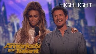 The Moment Michael Ketterer Got 5th Place On AGT - America