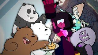 We Bare Bears vs Crystal Gems. Epic Rap Battles of Cartoons Season 3.