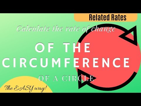 Calculus - Related Rates - Circle Circumference - Analytics