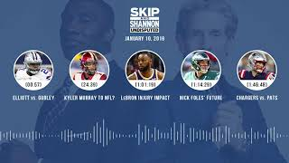 UNDISPUTED Audio Podcast (01.10.19) with Skip Bayless, Shannon Sharpe & Jenny Taft | UNDISPUTED