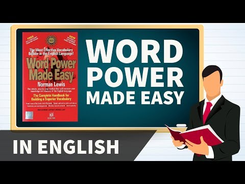 Word Power Made Easy - Norman Lewis - How to talk about Doctors ? - Vocabulary word roots in English