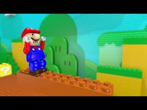 3D Lego Mario Animation