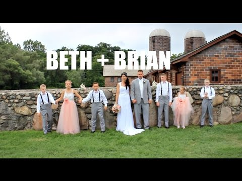 Van Hoosen Farm Wedding | Rochester Hills, Michigan | Beth + Brian