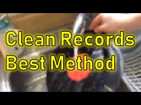 How to Clean or Wash your Vinyl Records Safely