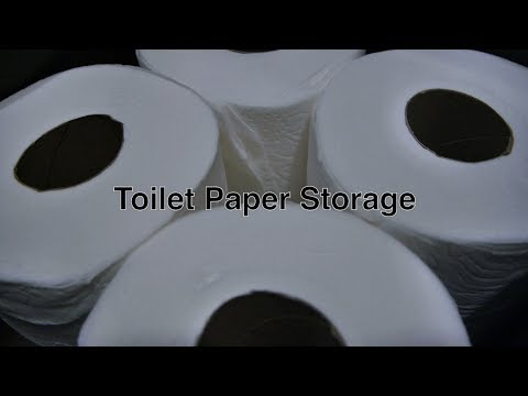Toilet Paper Storage Solution in Our Home For Standard-Sized Tissue Toilet Paper Rolls + Drawers