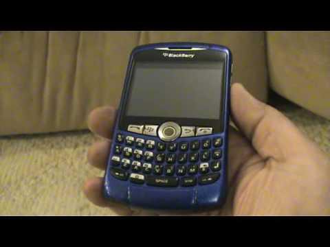 Blackberry 8320 Blue Unlocked