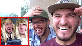 REACTING TO OUR OLD CRINGEY VINES!!
