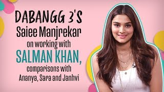 Dabangg 3 actress Saiee Manjrekar on Salman Khan, nepotism & competition with starkids | Pinkvilla
