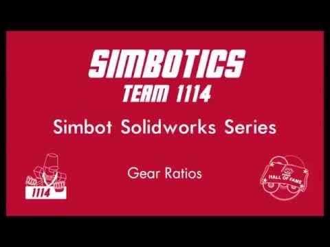 Simbot Solidworks Series: 6.2 - Gear Ratios