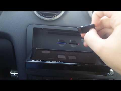 Audi RNS-E LED Review Audi Navigation plus