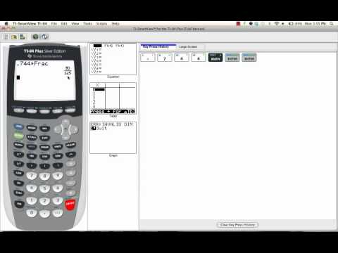 Convert Decimals To Fractions On A TI 84: How To Guide