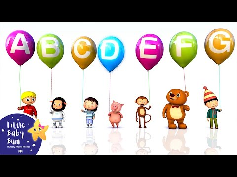 ABC Song | Alphabet Song | A to Z for Children | 3D Animation from LittleBabyBum!