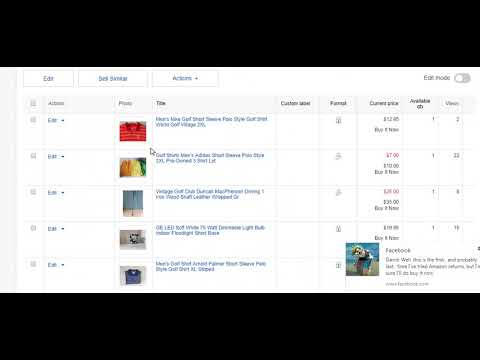 How To Switch Buy It Now Listings to Auction Style Listings On eBay