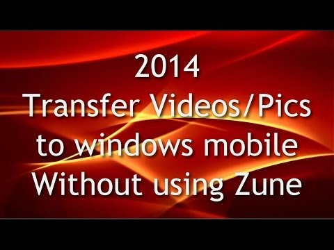 Transfer Videos and other files in Windows Phone without using zune