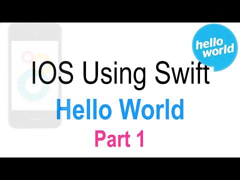 8 Hello World IOS App Part 1 |
