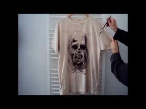 Zombie T-Shirt von Zombie-Planet.de: Selbst gemacht!