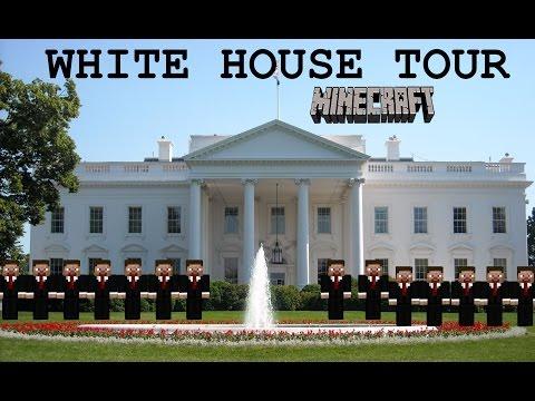 MINECRAFT AMAZING WHITE HOUSE TOUR!!!