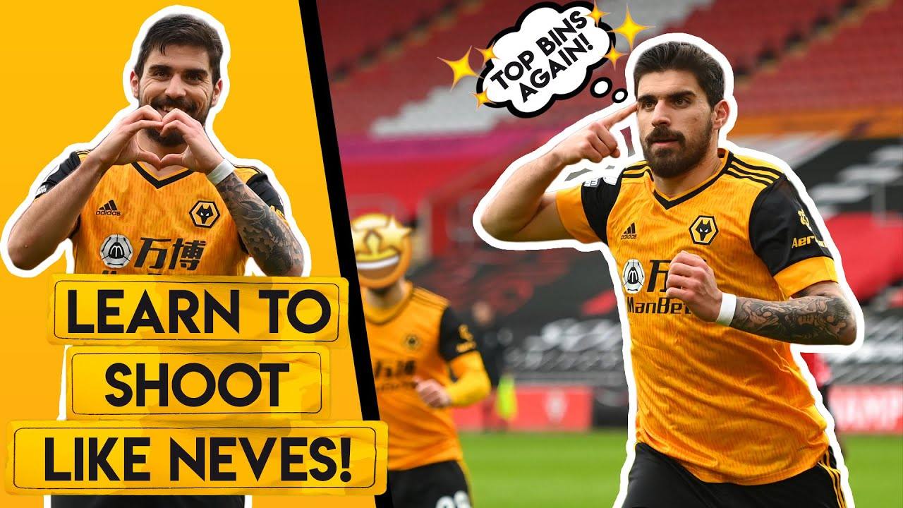 HOW TO SHOOT LIKE RUBEN NEVES! | Hit top bins with your shots and free-kicks!
