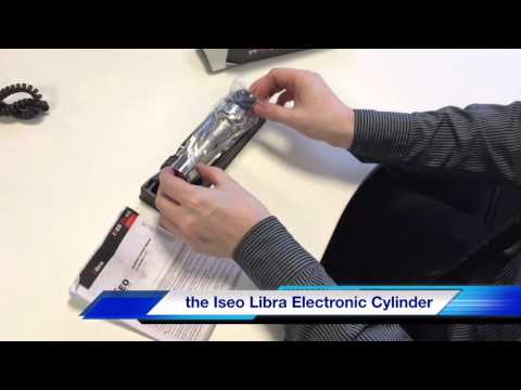 Unboxing the Iseo Libra Electronic Cylinder