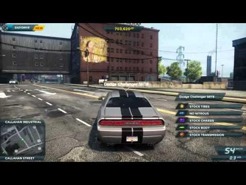 Need For Speed: Most Wanted How to find the Dodge Challenger SRT8 and the Chevrolet Camaro ZL1