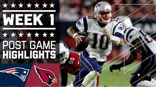 Patriots vs. Cardinals | NFL Week 1 Game Highlights