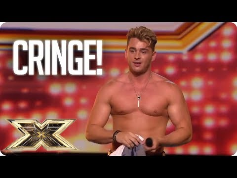 Xxx Mp4 SO CRINGE Top Awkward Auditions The X Factor UK 3gp Sex