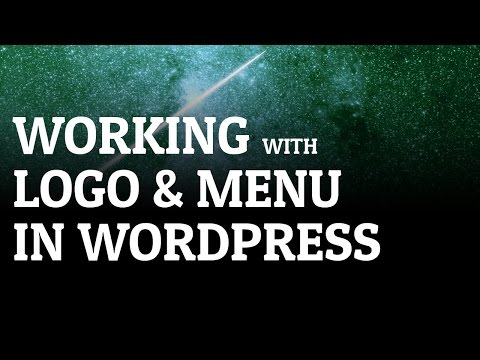 Working With Logo & Menu In Wordpress Theme