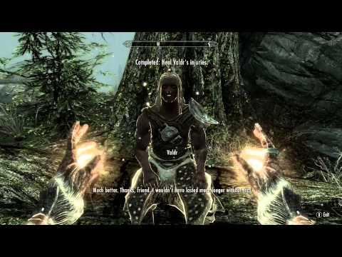 How to heal Valdr - Skyrim