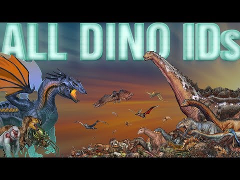 🔴 All ARK DINO IDs - How to Spawn ALL Dinos/Creatures | From A to Z | PC/XBOX/PS4 - 2018