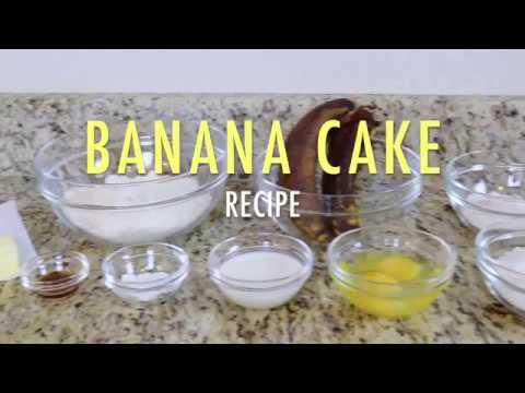 How To Make My Best Banana Cake Recipe