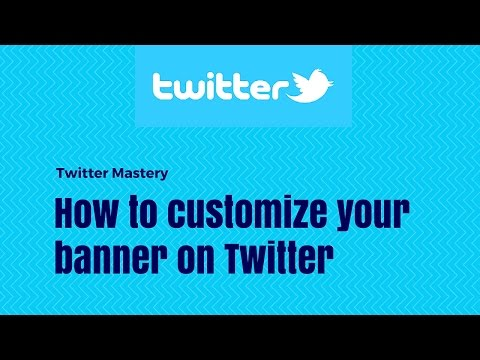 How to customize your banner on Twitter