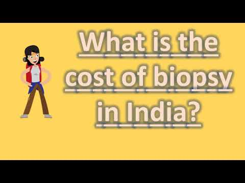 What is the cost of biopsy in India ? |Top Health FAQS
