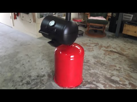 Propane tank grill , homemade