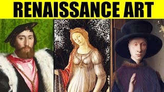 FAMOUS RENAISSANCE PAINTINGS - 100 Great Examples of the Early, High Renaissance and Mannerism Art