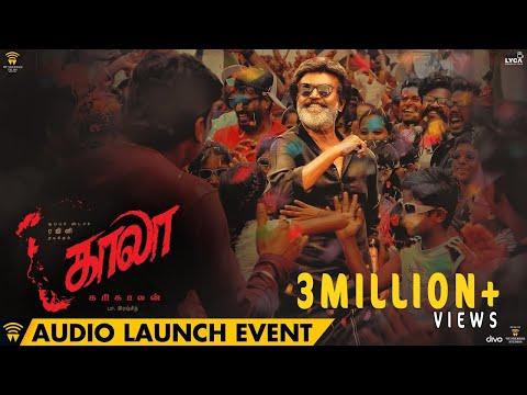 Kaala - Audio Launch Event | Rajinikanth | Pa Ranjith | Dhanush | Santhosh Narayanan