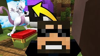 MY WIFE IS A BETTER MEWTWO THAN ME?! (NEW Minecraft Pokemon BedWars) #1