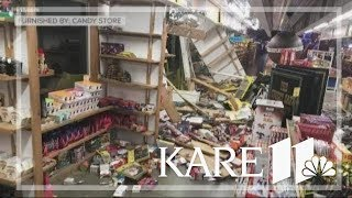 Download Car crashes into MN's Largest Candy Store in Jordan Video
