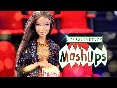 Mash Ups: How to Make: Doll Movie Theater | Cash Register | Popcorn | Plus Quick Crafts - 4K