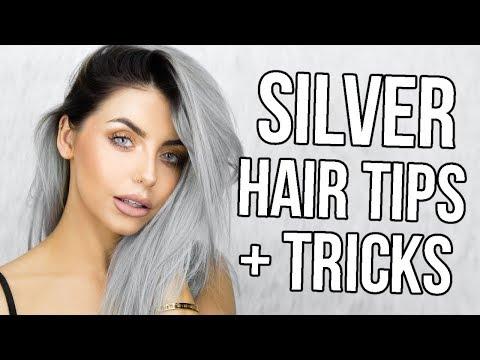 HOW I GOT / MAINTAIN SILVER HAIR! TIPS, TRICKS + HAIR UPDATE